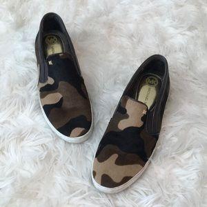 Michael Kors Calf hair slip on sneakers